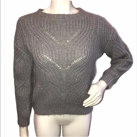 Philosophy Gray Cashmere Feeling Sweater
